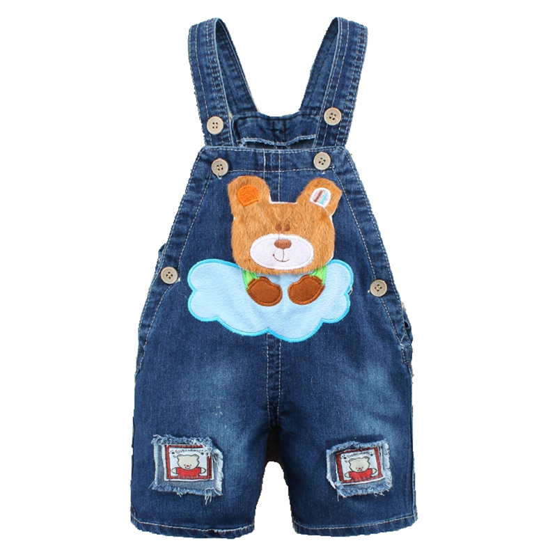 9M-2T-Baby-Boys-Girls-Jeans-Overalls-Shorts-Toddler-Kids-Denim-Rompers-Cute-Cartoon-Bebe-Jumpsuit-For-Summer-Bib-Pants-Clothes-2