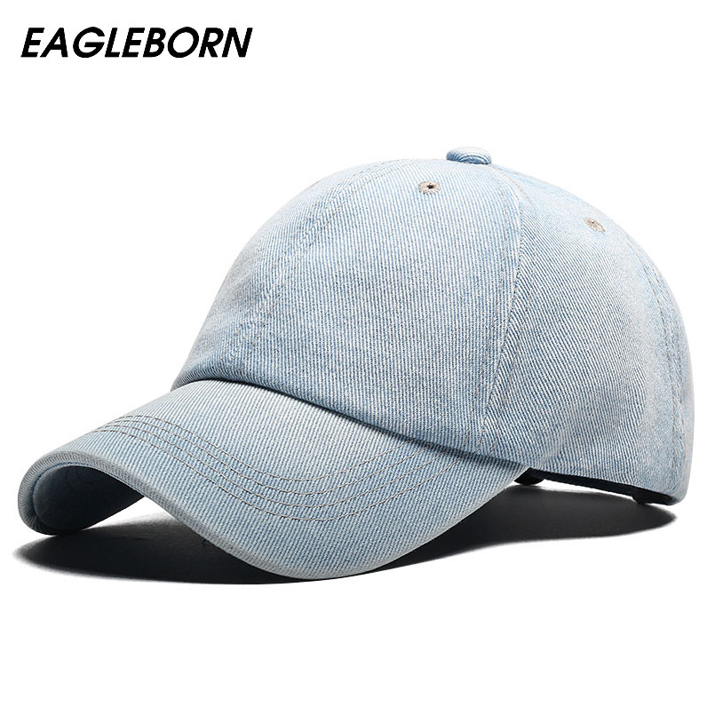 Baseball Cap Men Snapback Cowboy Caps Brand Homme Hats For Women Bone Jeans Denim Blank Gorras Casquette Plain 2018 New Hat new fashion floral adjustable women cowboy denim baseball cap jean summer hat female adult girls hip hop caps snapback bone hats