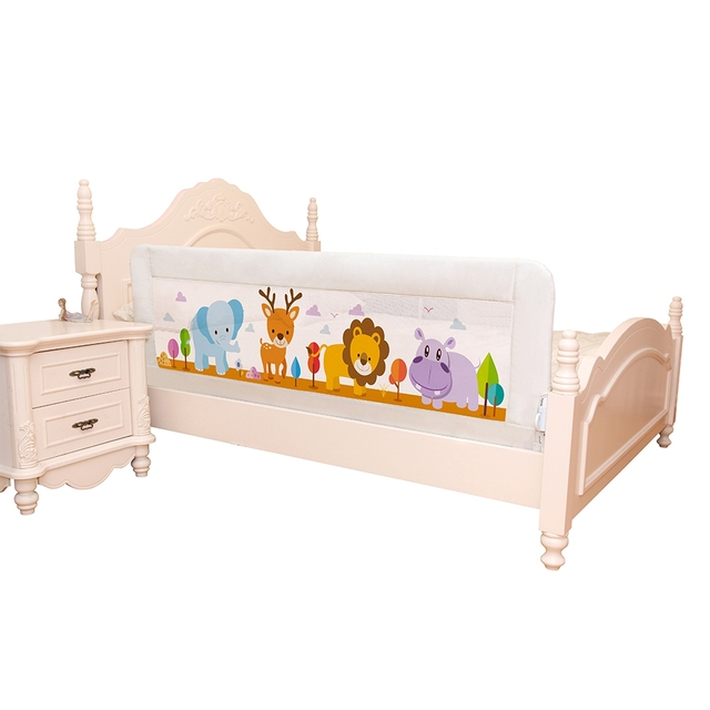 New 1.8M Baby Bed Rail Baby Bed Safety Guardrail Pocket Baby Playpen Kids Safety General Use Baby Bed Fence Guardrail Crib Rails