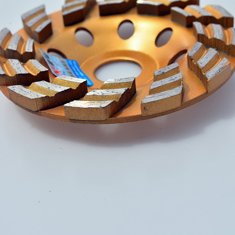 100mm 4inch Diamond Grinding Wheel Floor Diamond Disc For Granite Marble Concrete Artifical Stone Terrazo Ceramic Tile