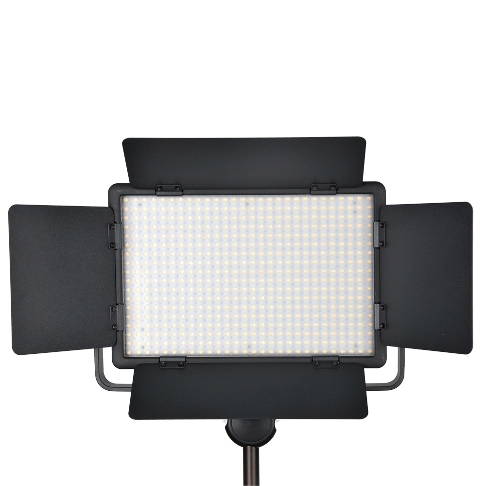 GODOX LED500 LED Video Light 500 LED Lamp Lights Photographic Lighting 3300K-5600K for DSLR Camera Camcorder Photo Studio godox professional led video light