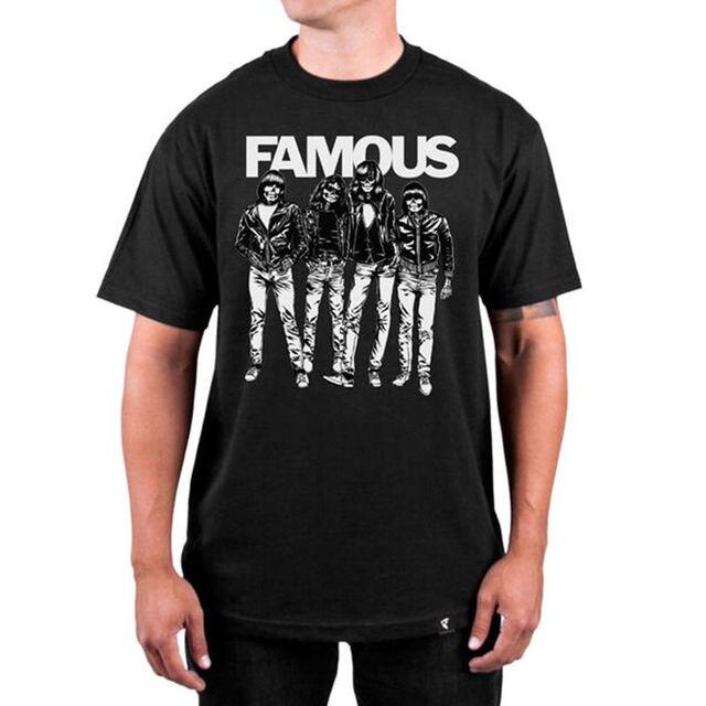 famous stars straps blitzkrieg t shirt black s 3xl new male