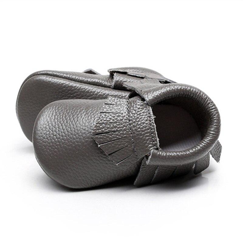 Hongteya Girls Genuine Leather tassels Shoes Newborn baby Moccasins Toddler First Walker Soft Cute Crib Shoes Bebe Sneakers