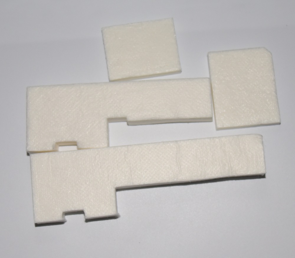 15sets Original new waste ink tank (4pcs sponge for one ink pad) for Epson L111 L110 L130 L220 printer  ink tank Sponge