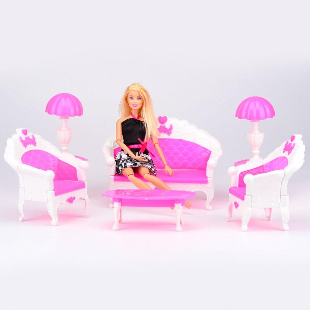 online kaufen großhandel barbie wohnzimmer aus china barbie ... - Barbie Wohnzimmer Möbel