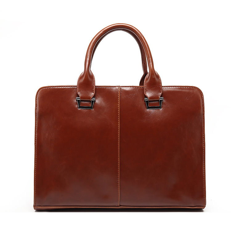 ФОТО Free shipping Men's PU leather Briefcases men laptop handbag male business handbags mens briefcase