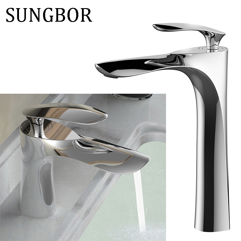 Black Basin Faucets Oil Rubbed Bronze Brass Crane Bathroom Faucet Single Handle Cold Hot Bath Sink Basin Water Mixer Taps 7810H black oil rubbed deck mounted bathroom faucet basin mixer sink taps dual handle cold and hot water faucets whg066