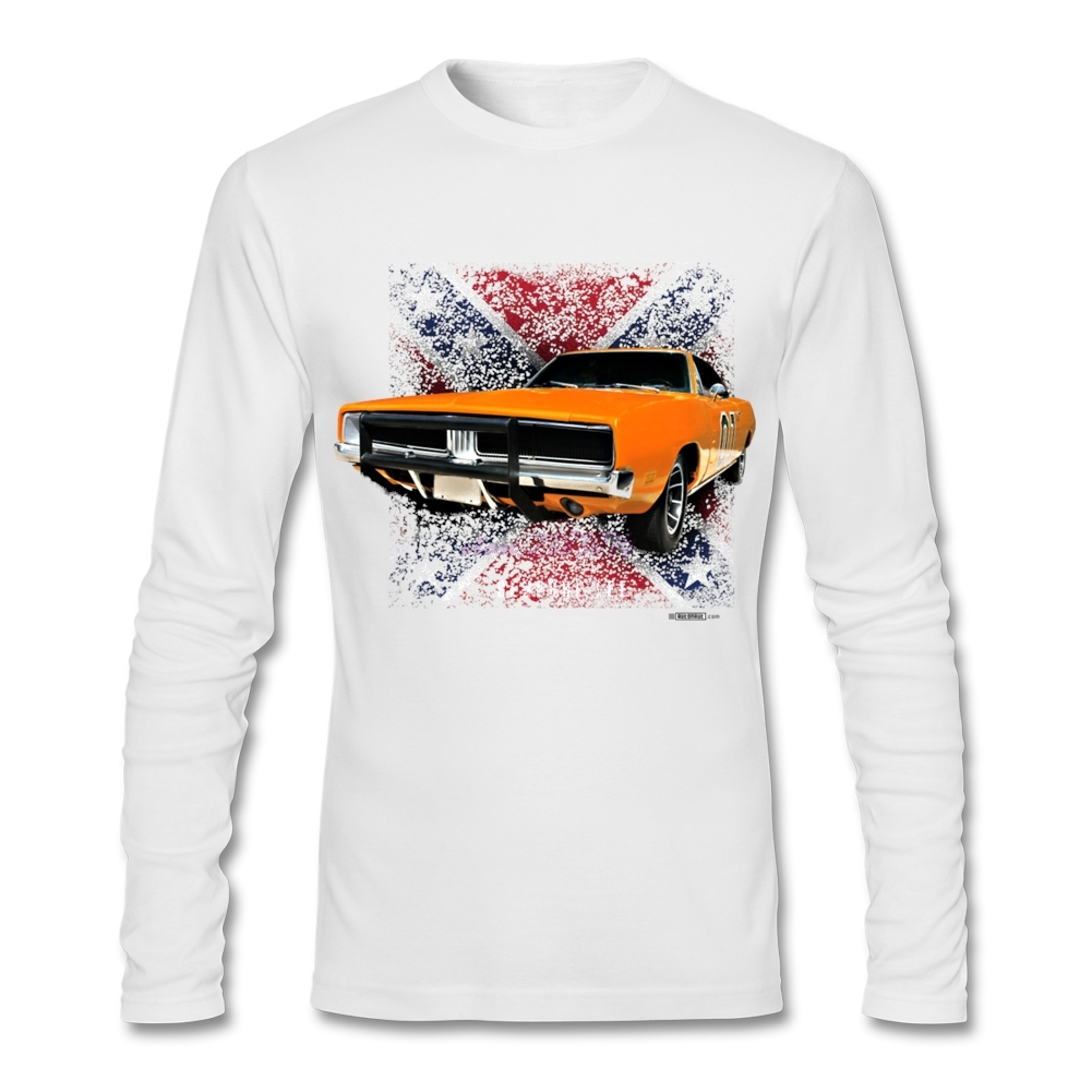 Design your own eco-friendly t-shirt - Chic Uk Car Men O Neck Tee Shirts Man Softy Cotton Fabric Full Sleeves Design Your Own T Shirt