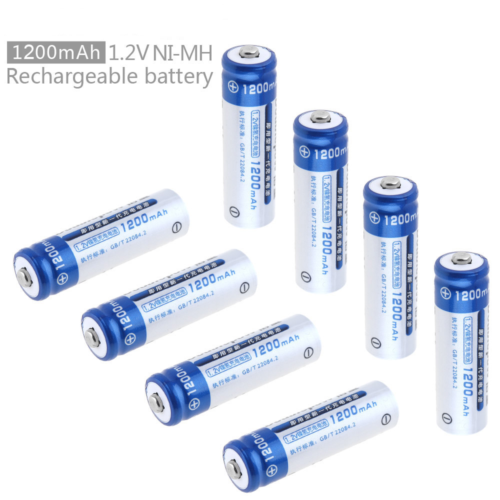 8pcs Doublepow 1.2v 1200mah Ni-mh Aa Battery Rechargeable Lsd Batteries With 1200 Cycle For Toys / Digital Camera / Mp4 Warm And Windproof