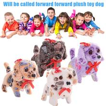 Hot Selling Cute Walking Barking Lighting Toy Dog Funny Electric Moving Dog Children Kids Toys(China)