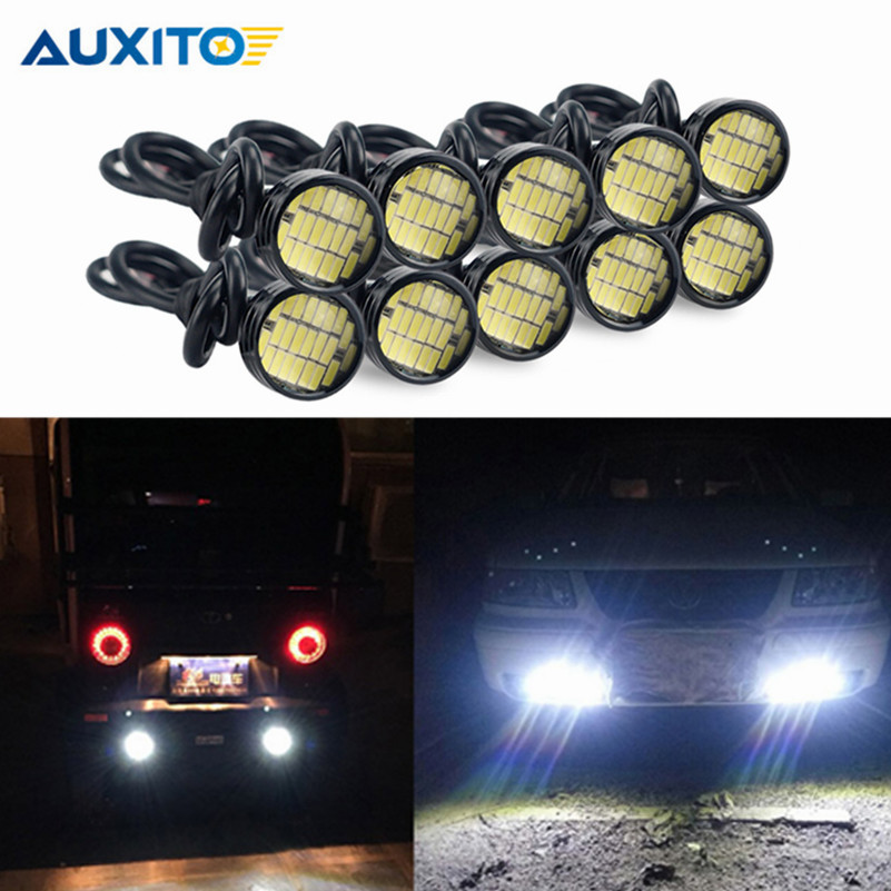 2pcs 6W Car Motor LED Eagle Eye DRL Daytime Running Tail Backup Corner light