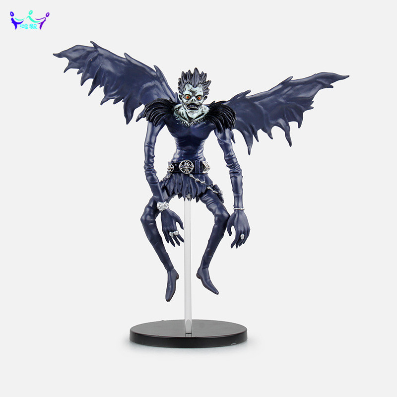 цена на Death Note L Ryuuku Ryuk Death Note Action Figure Q-version Lyuuku 18cm Ryuuku kids toy Doll Anime Figure brinquedos