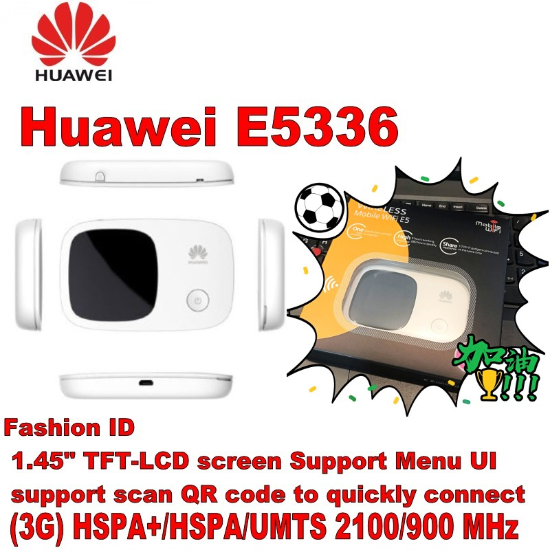 New Fashion Hua Wei E5336 3g 21.6mbps Pocket Wifi Router Networking Computer & Office