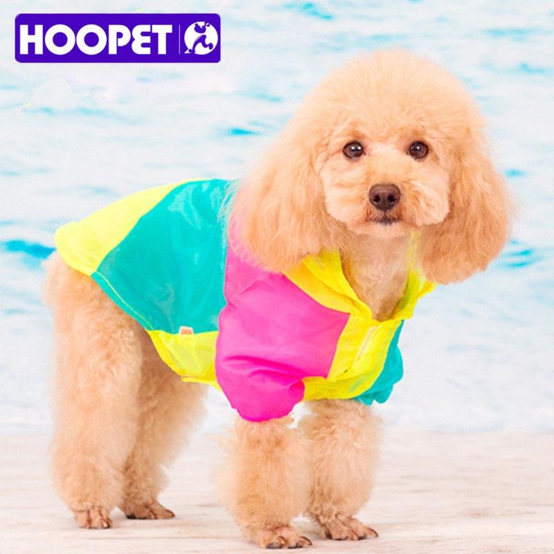 Vasaras suņu apģērbs Light Stitching Color Saules aizsargkrēms UV - Mājdzīvnieku produkti