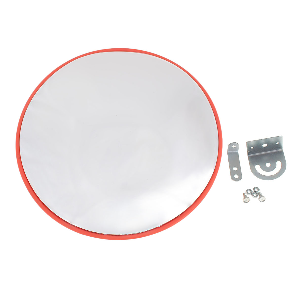 Safurance 45cm Wide Angle Security Curved Convex Road PC Mirror Traffic Driveway SafetySafurance 45cm Wide Angle Security Curved Convex Road PC Mirror Traffic Driveway Safety