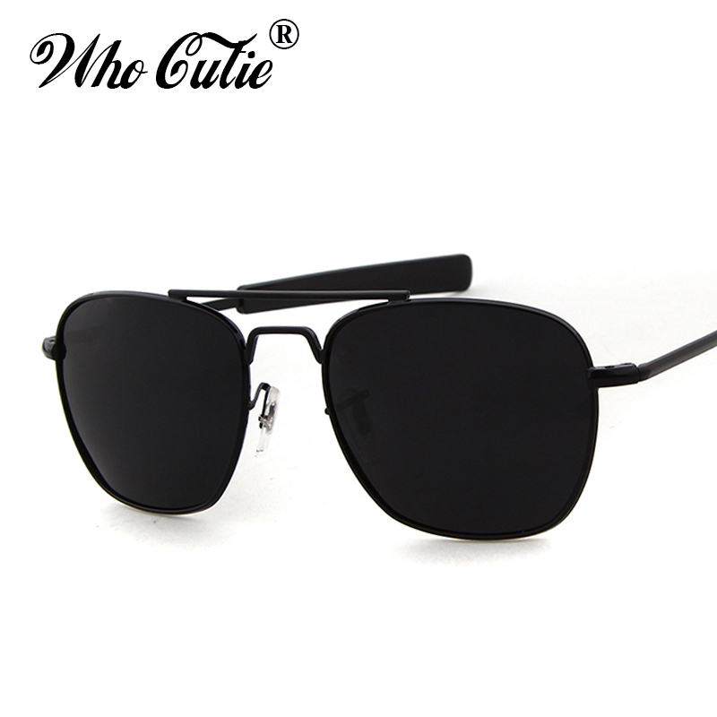 b9b27a74d40 WHO CUTIE 2019 Men Polarized AO Sunglasses MILITARY American Optical Lens  James Bond Sun Glasses Driving Hot Male Shades OM399-in Sunglasses from  Apparel ...