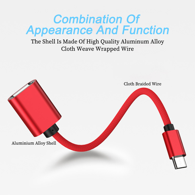 Micro USB OTG Cable Adapter Data Transfer Micro USB Male to USB Female adaptador for Samsung Xiaomi HTC Android Phone Connector