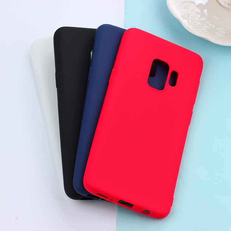 Full Protective Cases For Samsung Galaxy S8 S9 Plus + Case S6 S7 Edge A6 A8 Plus A7 J4 J6 J3 J5 J7 2016 A3 A5 A7 2017 2018 Cover