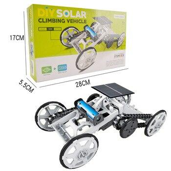 DIY Educational Toy Solar Energy Hybrid Car 3