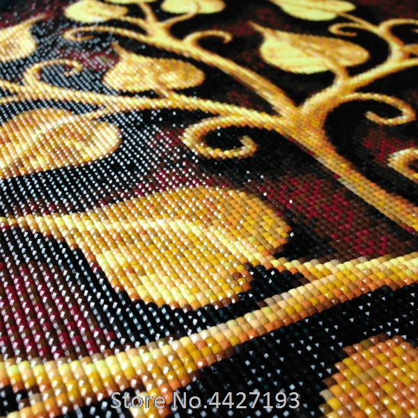 Diamond embroidery beauty Lion 5D Diamond Painting Cross Stitch kits Square rhinestone Drill Full DIY Diamond Mosaic woman Decor in Diamond Painting Cross Stitch from Home Garden