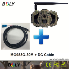 MG983G with dc cables 30MP wireless cameras GPRS MMS cellular 3G hunting cameras invisible IR and 100 ft. black IR game cameras christoffer andersson gprs and 3g wireless applications professional developer s guide isbn 9780471189756
