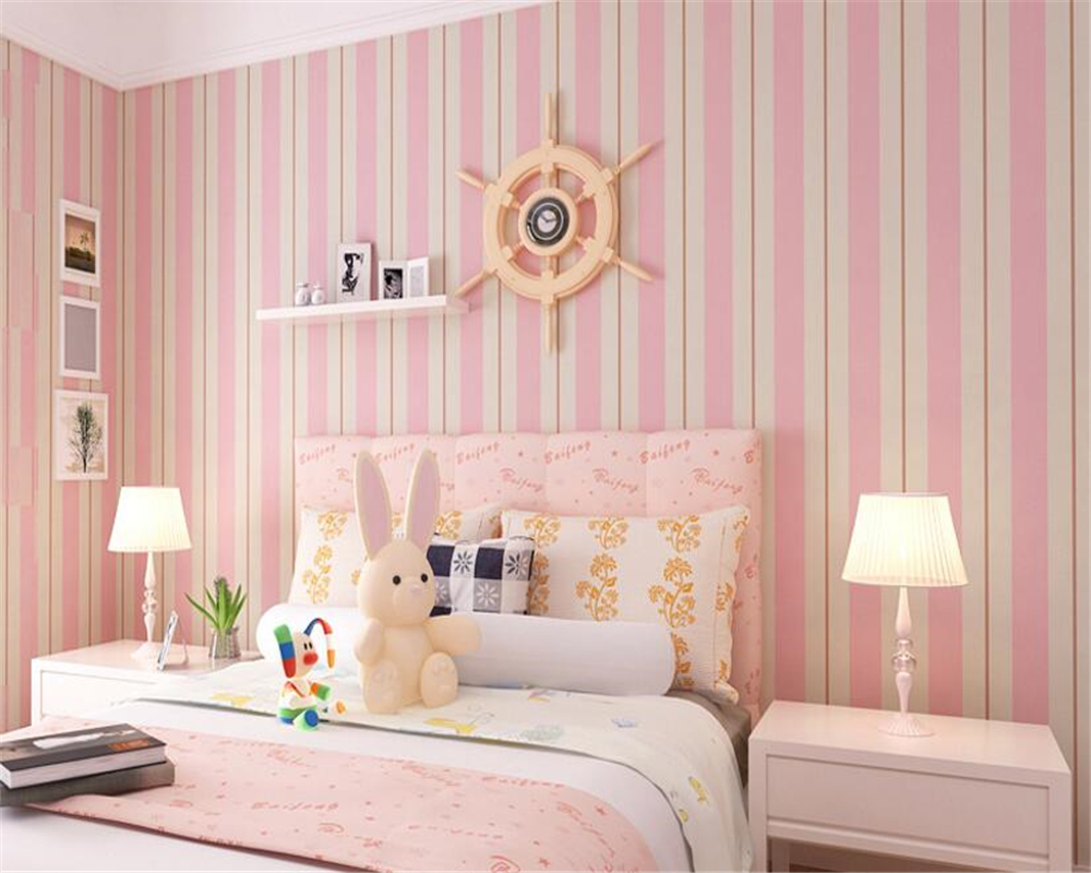 beibehang papel de parede Fashion nonwovens living room bedroom 3d wallpaper simple TV background wall vertical stripes tapety beibehang nonwovens healthy fashion
