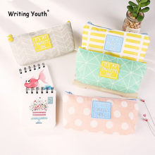 Latest Model Cute Small Fresh Pencil Case Kawaii School Kids Pencil Box Office Stationery Gift Supplies(China)