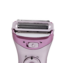 Original Kemei Women Electric Epilator Rechargeable washable Lady Shaver Hair Body Hair Trimmer Shave Wool Removal Device