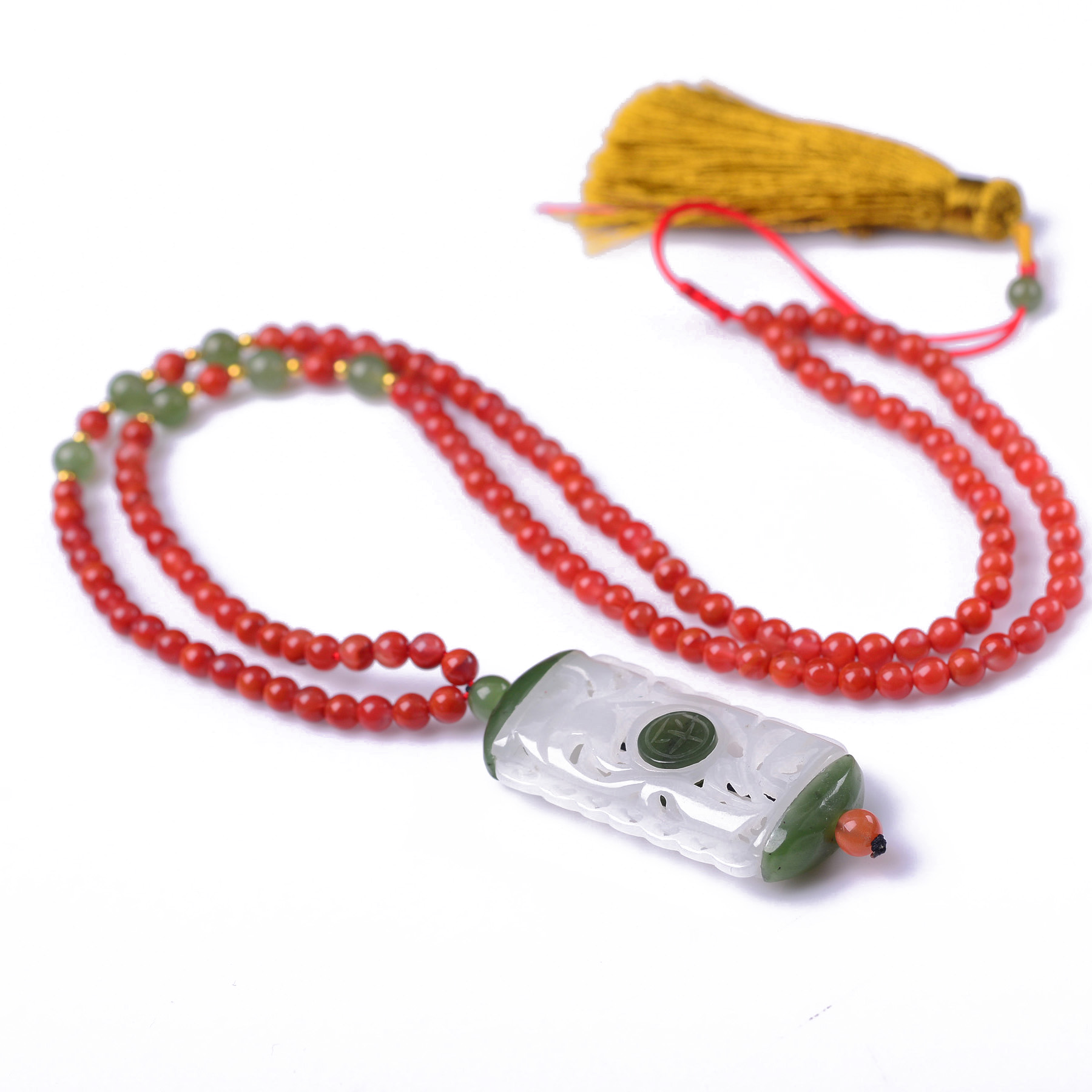 Handmade Authentic Hetian Crystal Necklace Pendants handmade authentic hetian crystal budda bracelets