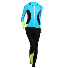 Hisea 2 Style Full Body Women Wetsuit 0.5MM Pro Ladies Diving Suit Long Sleeve UV Protection Surfing Sailing Swimwear