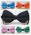 bowtie/DIY new style High-grade product/Metal Angle design/men and women bowknot/men boutique bow tie , free shipping