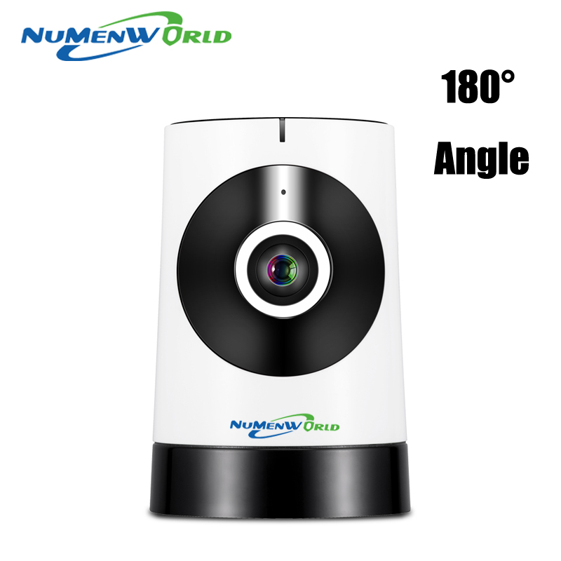 180 Degree Panoramic Fish Eye Lens IP font b Camera b font Wifi Wireless Night Veresion