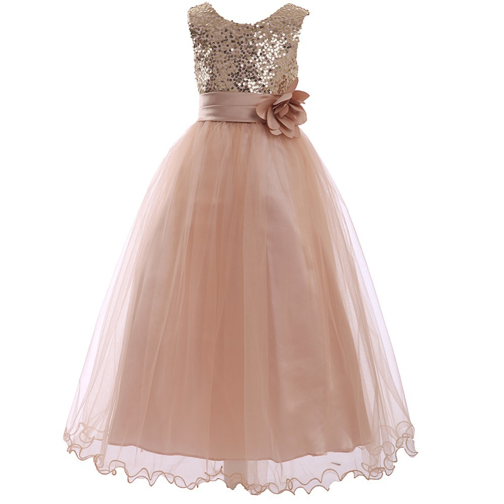 Dresses for girls 10 12 vestido de festa infantil girls for Wedding dresses for young girls