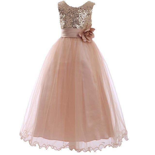16b047ec1b dresses for girls 10 12 vestido de festa infantil girls bridesmaid dresses  robe ceremonie fille little