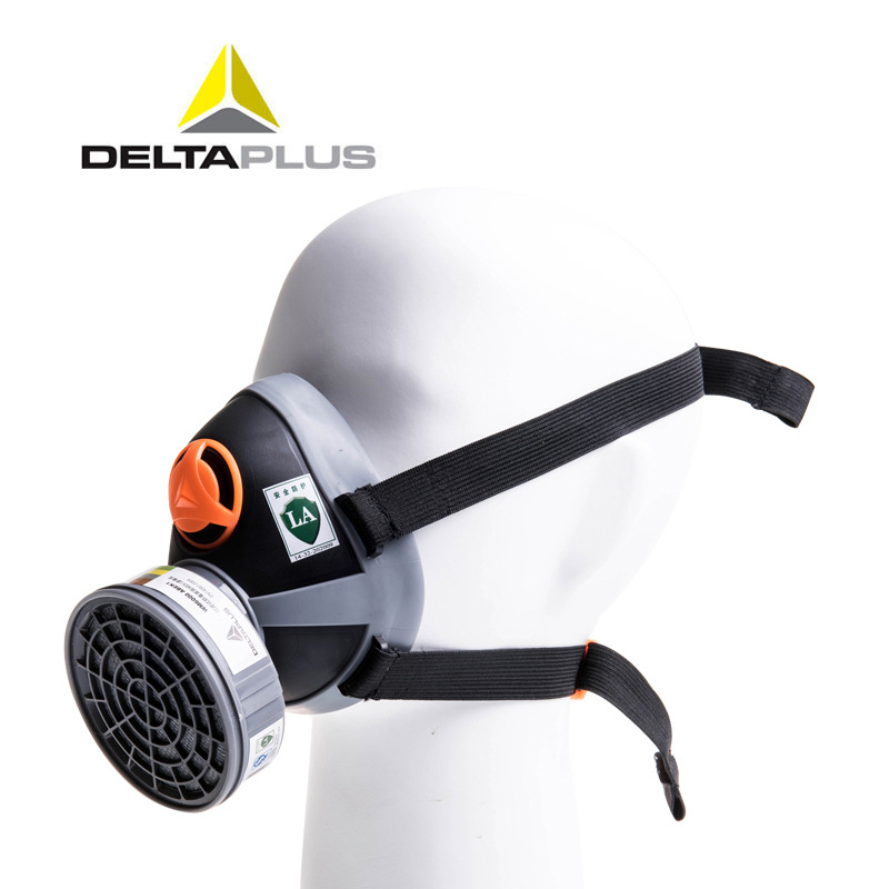 ФОТО NEW RESPIRATOR gas mask Silicone industrial safety respirator dust mask carbon filter pesticides paint spray dust safety mask