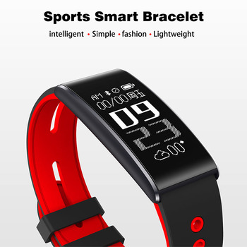 Hot Selling Smart Band With Heart Rate Monitor Fitness Tracker Bracelet Step Support Bluetooth camera Wristband for Android IOS
