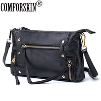 Newest Brand Design Cow Leather Soft Stylish Women Messenger Bag 2017 Hot Sale European And American