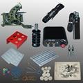New Arrival 1 set Tattoo Kit Power Supply Gun Complete Set Equipment Machine Wholesale 1110404kit