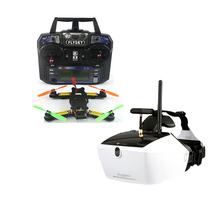 5.8G 40CH FPV 2.4G 6CH RC Mini Racer Quadcopter Drone Tarot 130 RTF Full Set TL130H1 Walkera Goggle 4 520TVL Camera F17840-E/F