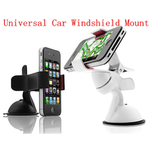 Universal Car Windshield Mount For Mobile Phone Rotating Holder Bracket Stand For iPhone 5 6 Plus Galaxy S4 S5 S6 Note 5 Z5 GPS стоимость