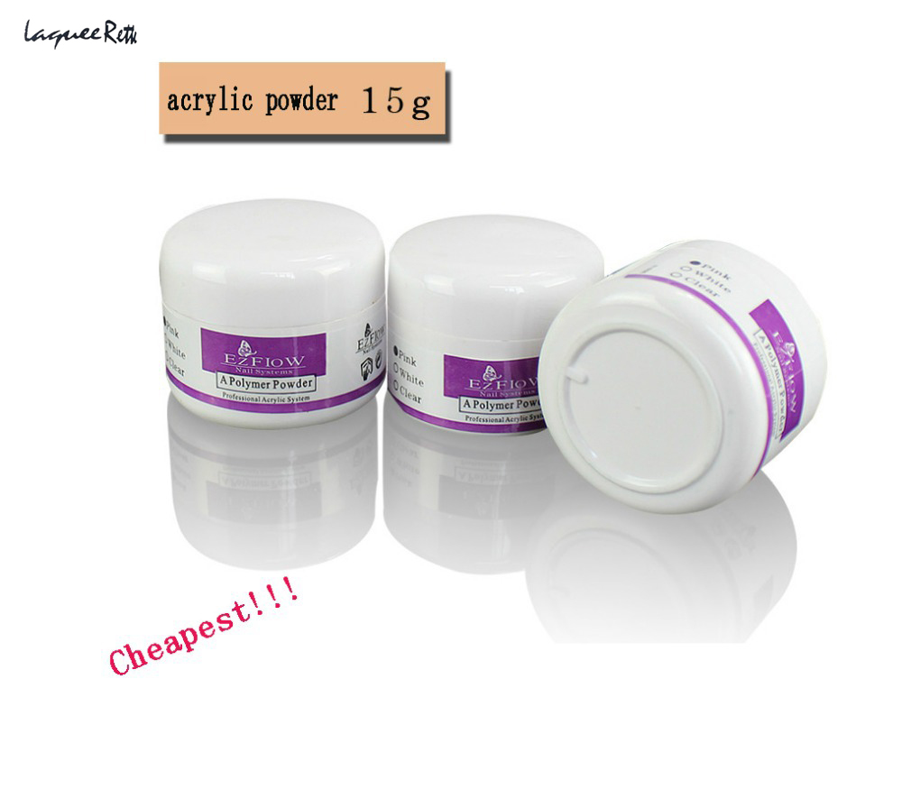 High Quality Acrylic powder Nail Tools Ezflow Crystal Powder Extend ...