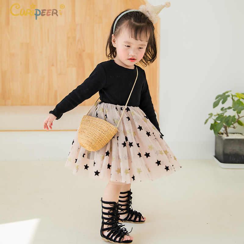 Фото Платье для девочек Vestidos/весеннее платье пачка принцессы с длинными рукавами и