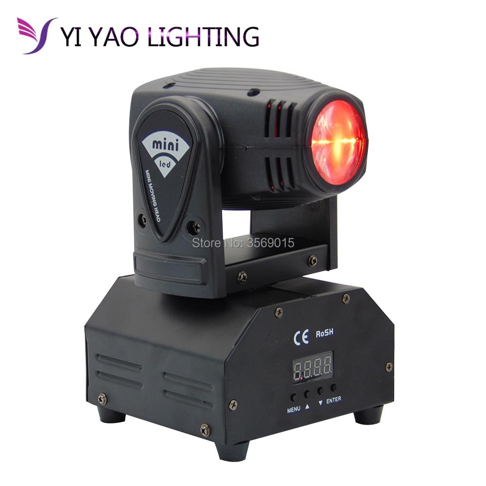 mini 10 10 w rgbw movendo a cabeca leve alta potencia watt 4 in1 led forte