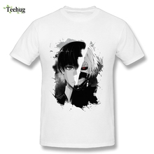 Awesome Men tokyo ghoul T Shirt Hot Sale Japanese Anime Homme Tee Nice Graphic 3D Print T-Shirt
