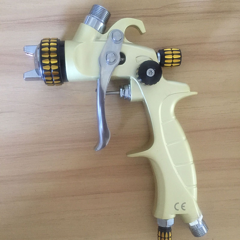 SAT1216A professional high quality hvlp mini spray gun for car painting nozzle 0.8mm machine pneumatic tools  цены