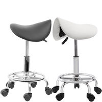 Salon Stool Hairdressing Chair Barber Beauty Swivel Hydraulic Lift Saddle