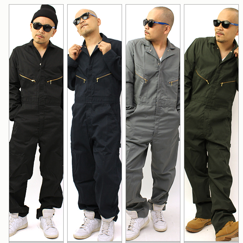 Mens Work clothing Long sleeve Coveralls Worker Machine repair Auto Repair Electric welding Absenteeism Thick section