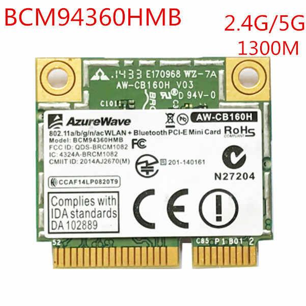 1PC BCM94360HMB Bluetooth 4.0 wireless network card PCI-E 1300M
