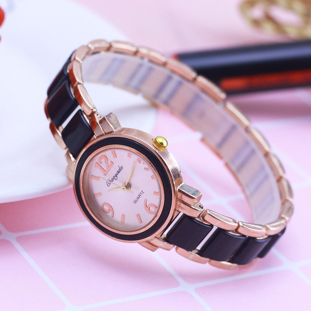 2018 Women Ladies Fashion Luxury Simple Wristwatch Girlfriend College Students Birthday Gifts Quartz Watches Female Dress Clock
