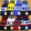 De calidad superior 12 equipos de fútbol PSG fútbol beanie de Punto de Los Hombres de regalo Beanie Sombreros de invierno Cálido de Punto Hat para mujeres de los hombres de fútbol PSG